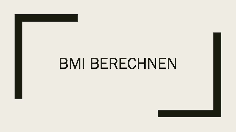 bmi rechner body mass index online berechnen. Black Bedroom Furniture Sets. Home Design Ideas